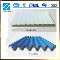China Competitive Corrugated Aluminum Sheets Price for Plant Roofing