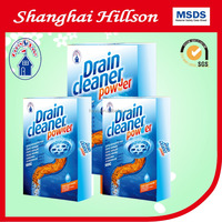 with drain cleaner powder pipe cleaner dirt helper blockage cleaner