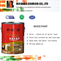 High gloss pu transparent wood top coat paint