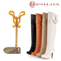 4 SEC telescopic stainless steel boot supports for group
