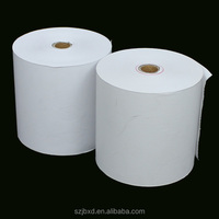 self adhesive transparent sticker paper 80*80 thermal paper roll
