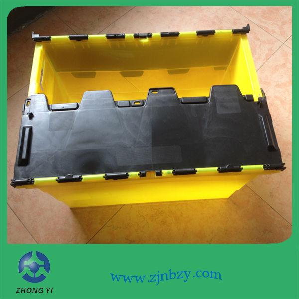 3 Plastic logistics containers plastic turnover storage bin plastic box for moving