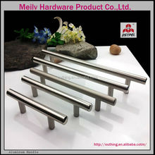 New design high quality Canada Usa kitchen cabinet hardware stainless steel solid pulls