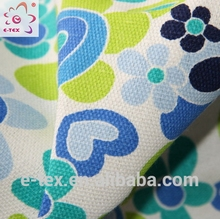 Garments fabric supplier super poly cotton canvas fabric for bags