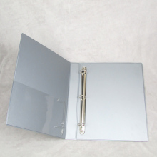 PVC lever arch file folder with ring binder metal plastic 4 rings hole binder file folder