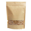 kraft paper bag/kraft paper bag with clear window/paper kraft bag