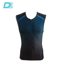 Custom Sublimation Wetsuit Triathlon Cycling Bodysuit Man From China
