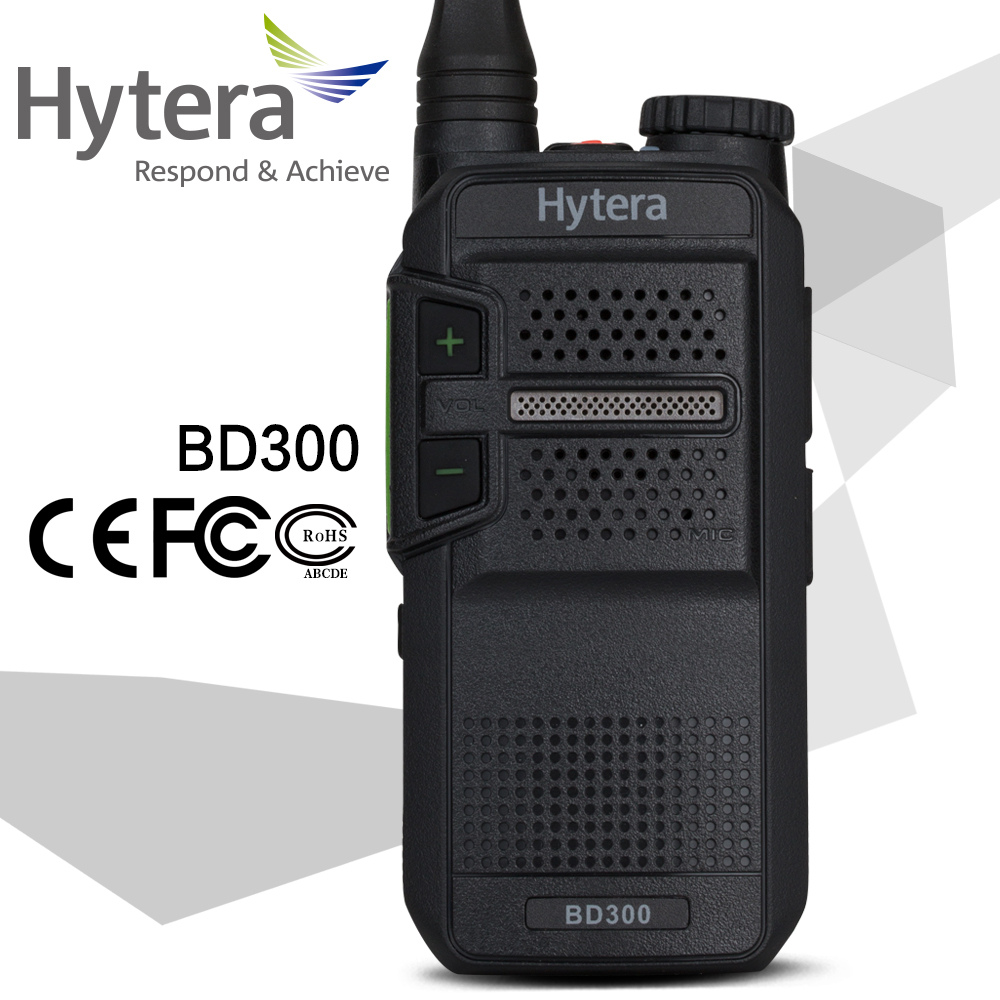 Hytera two way radio BD300 UHF 400-470Mhz DMR mini digital walkie talkie