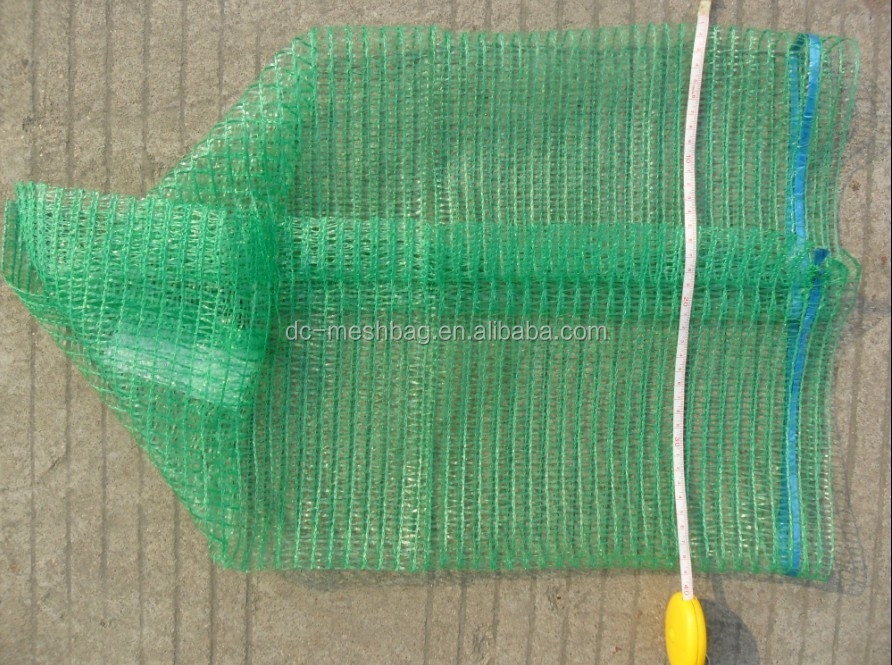 Green 40x60 raschel vegetable nets for packing cabbages