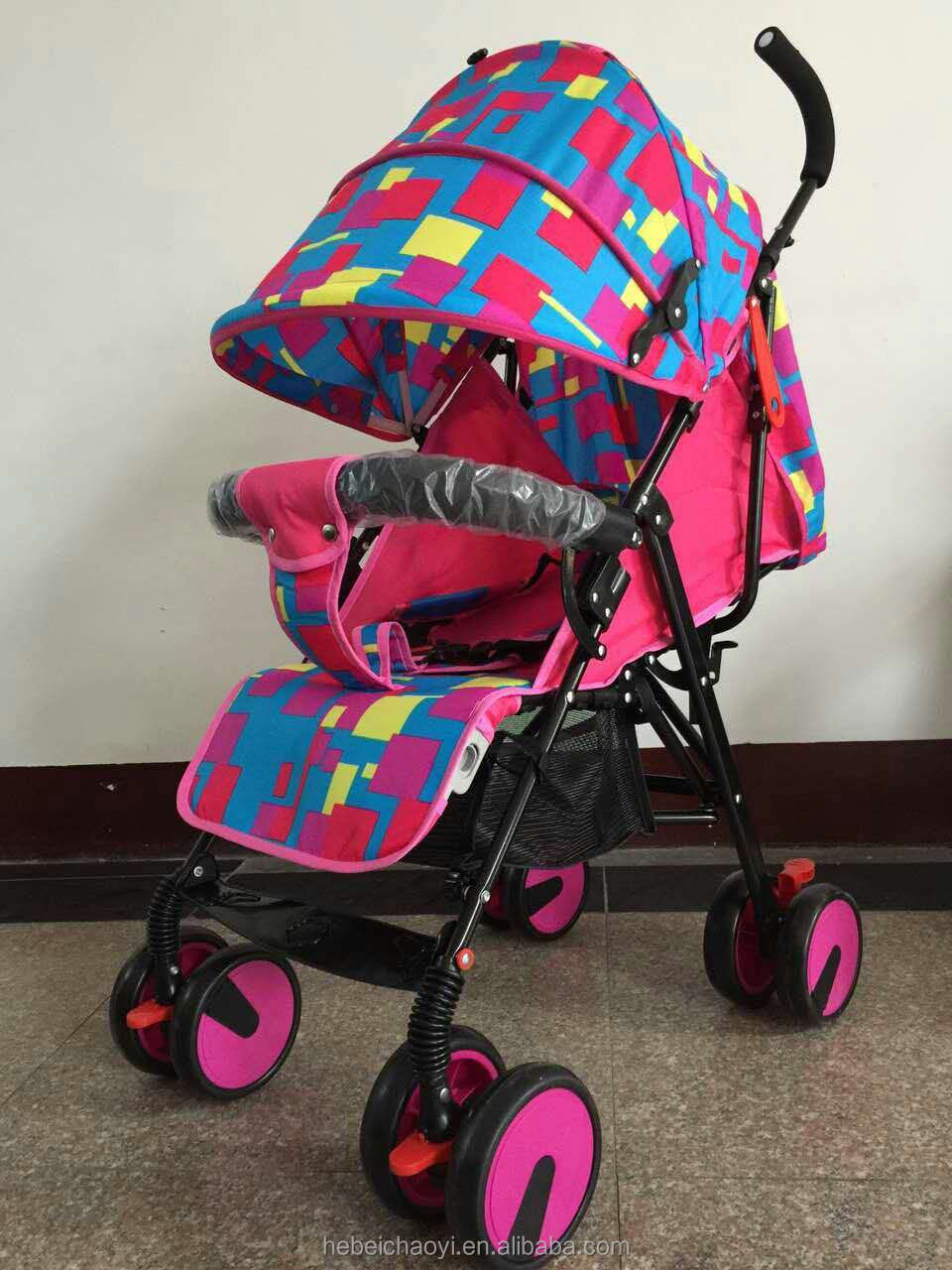 wholesale cheap price doll stroller China made OEM brand light weight baby stroller 3 in 1