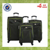 Luggage Wheels Parts Brand Promotional Nylon Valise Darker Green Color Valise Bag