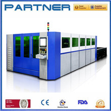 Globle standard 1000w metal fiber laser cutter , fiber laser cutting machine for steel and iron