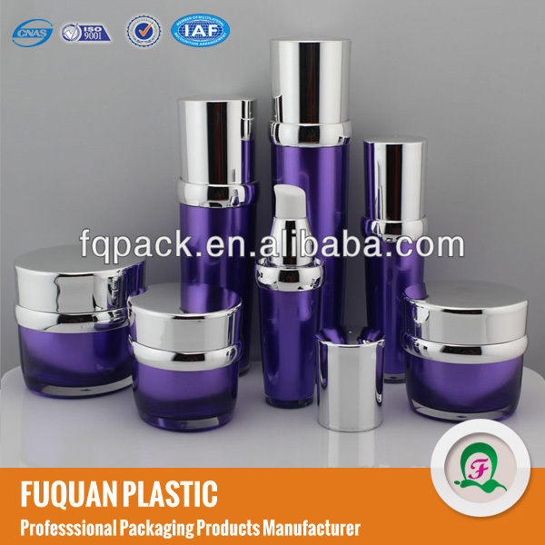 Acrylic Empty Paint Plastic Cosmetic Containers