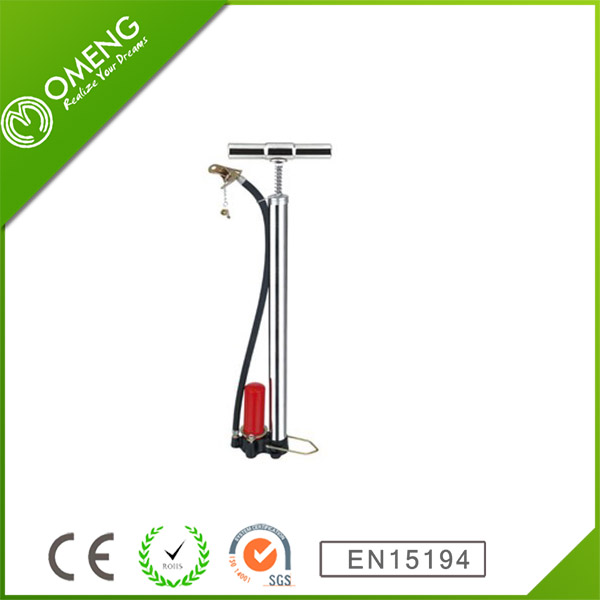 New Style Road Bike Plastic Mini Electric Pump With Gauge