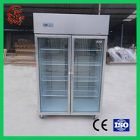 Pharmaceutical cooler upright medicine display showcase drug refrigerator