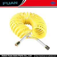 Best Deals High Quality Pu Spiral Tube Coiled Air Brake Hose Truck air brake coil hose