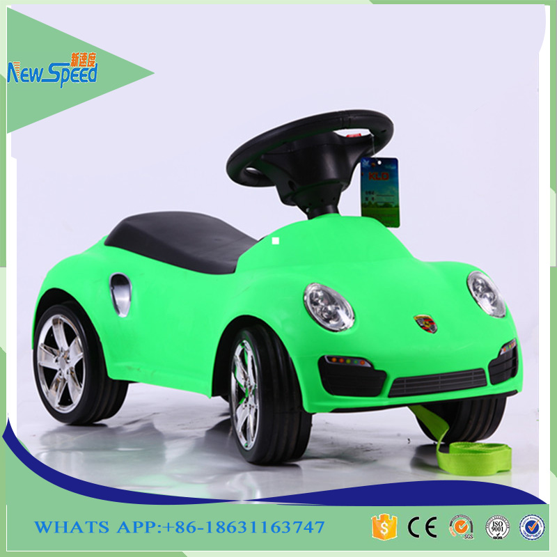 Licensed Mercedes Benz multi-functional kids baby car, with power display push car, can change into swing car