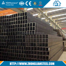 China supplier mild galvanized square steel tube with good quality