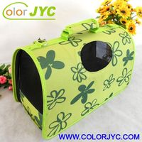 J229 expandable pet dog carrier