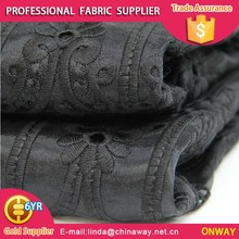 ONWAY TEXTILE Beautiful design tulle mesh polyester spangle organza embroidery fabric