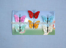 make a fabric butterfly