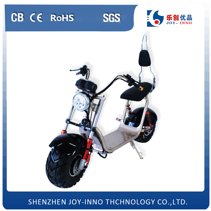 New Product Electric Motorcycle Two Big Wheels Stable Tire off Road Harley Electric Scooter