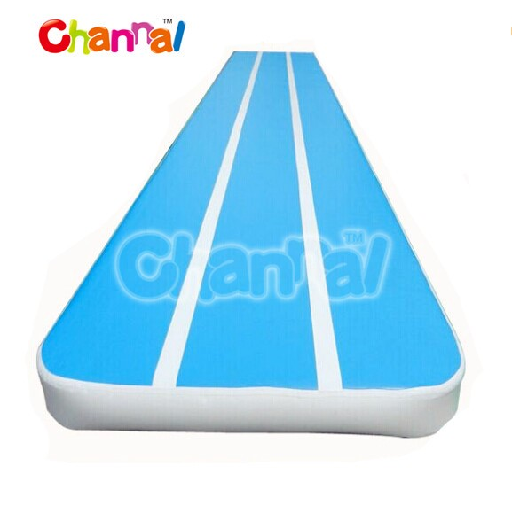 Channal DWF inflatable air tumble track, tumble track inflatable air mat for gymnastics