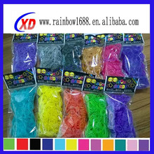 new style DIY loom bands and bracelet colorful silicone loom bands