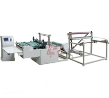 LRQB 600-1200 plastic air bubble film bag making machine (with one folder)