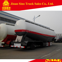 55 Cbm 3-Axles Low Density Powder cement bulker trailer