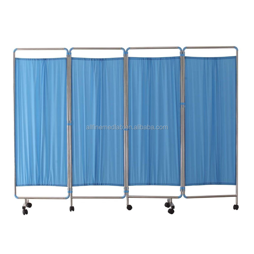 4 panels Examination screen divider