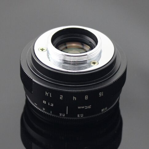 25mm F1.8 Fujian New Design Camera Lens