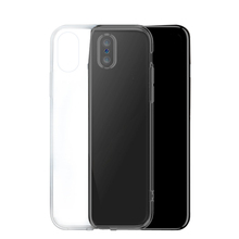 2018 best selling custom Super soft transparent protective TPU mobile phone back case cover for iphone 7 8 8plus X smartphone