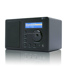Portable Built-in Li-ion Battery WiFi Internet Radio Via Personal Hotspot