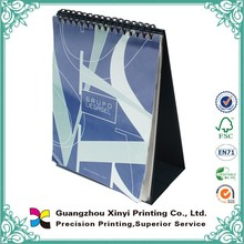 Custom mini cheap colorful insert photo printable paper back up cardboard desk calendar 2015 with logo