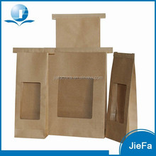 2015 New Design Eco-friendly Kraft Paper Coffee Bags