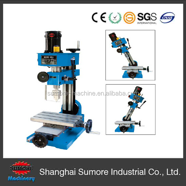 Specification of vertical milling machine SP2202 / SX1