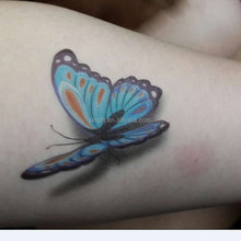 3D Butterfly Flying Design Temporary Tattoo Sticker Decal Hot Sexy Temp Tattoos