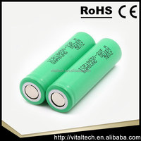 High drain power battery Samsung ICR 18650 25R LG HE2 HE4 20A 2500mah lithium e cig batteries cell