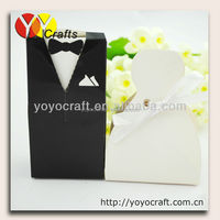 cheap wedding dripping decoration bride and groom wedding favor box