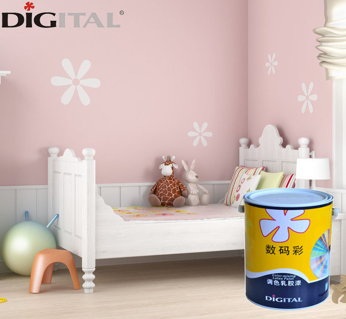 High quality fungus resistant house interior living room wall paint color