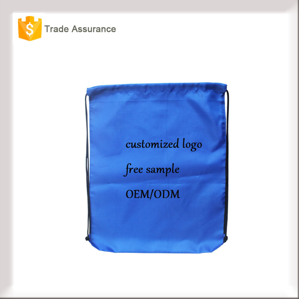 High quality cheap eco friendly non woven linen drawstring bag