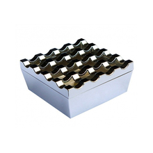 hotel KTV different kinds zinc alloy bronze ashtray with holes