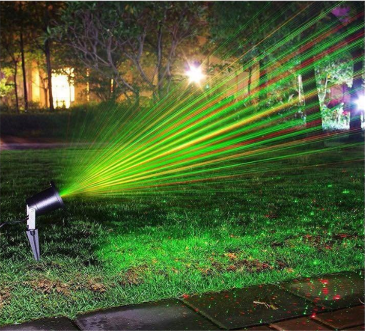 2016 Hot sale Christmas lights with IR Wireless Red&Green Star Laser light for outdoor indoor use