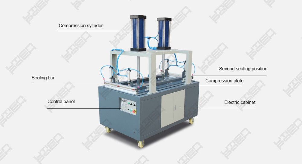 Heavy pressure mattress compress packing  machine,pillow compression machine