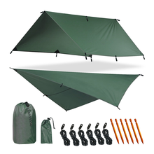 Military Waterproof Fly Tent Tarp Camping Shelter for Any Weather