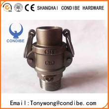 Condibe stainless steel male and female fire hose coupling