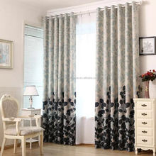 home textile,100% polyester double-sided printing window curtains