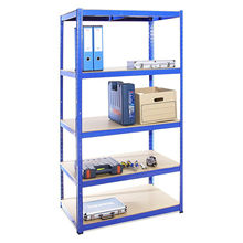 High stability shelving 5 layers metal rack MDF floating <strong>shelves</strong>