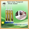 High quality transparent quick drying acetoxy silicone sealant